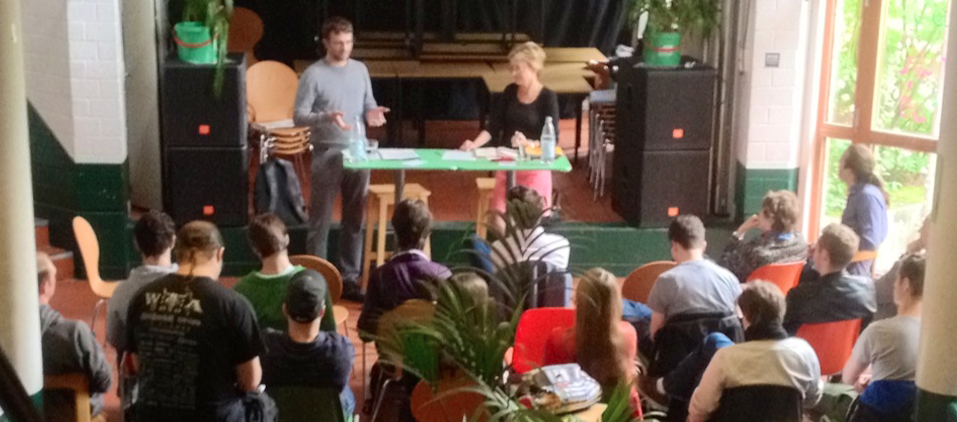 Diskussion mit Barbara Schleicher-Rothmund und Gunter Heinisch