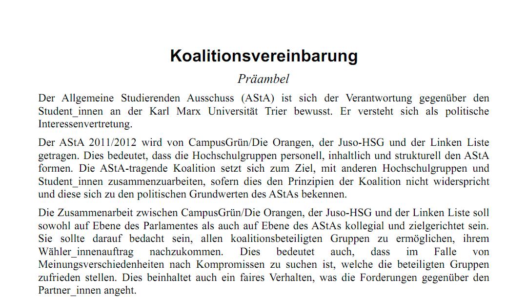 Der Koalitionsvertrag ist veröffentlicht!